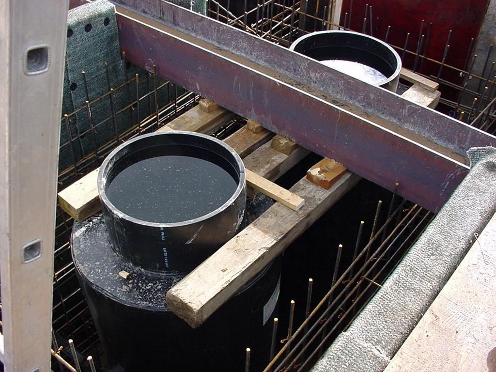 Séparateur d'hydrocarbures bétonné