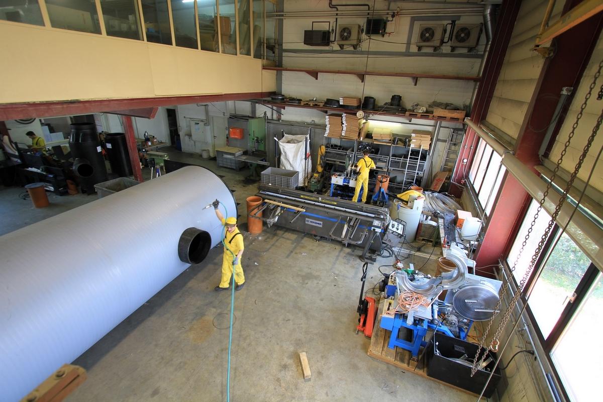 Ateliers HDPE Canplast 80